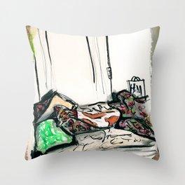 Sexy Greyhound Throw Pillow