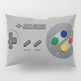 Classic Nintendo Controller Pillow Sham