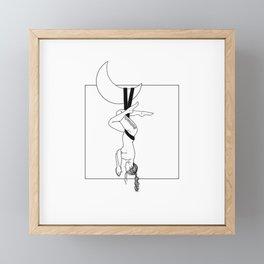 Aerialist Framed Mini Art Print