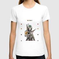 boba fett T-shirts featuring Boba Fett  by Jared Cady