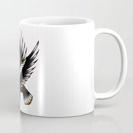 Eagle in the Red Sun Coffee Mug