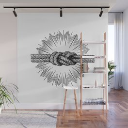 infinity knot Wall Mural