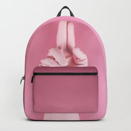 Mighty pink glove Backpack