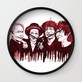 TheRollingStones Wall Clock