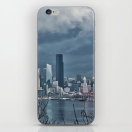 Seattle's shades of gray iPhone Skin