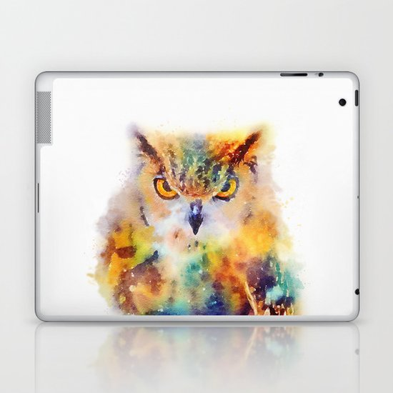 The Wise - Owl Laptop & iPad Skin