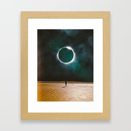 Returning To The Eclipse Framed Art Print