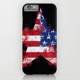 Artistic LXXXIX - Americana Star II iPhone Case