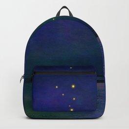 Winter lights Backpack