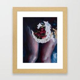 Everyone Loves Pie Framed Art Print