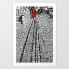 Train Line Art Print