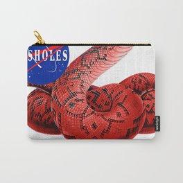 NASA Lies - Never Trust a Snake Carry-All Pouch