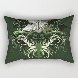 GreenMan Rectangular Pillow