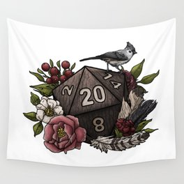 Druid Class D20 - Tabletop Gaming Dice Wall Tapestry
