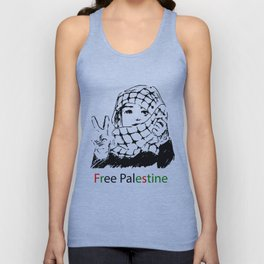 Freedom for Palestine Unisex Tank Top