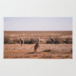 Three Kangaroos Rug