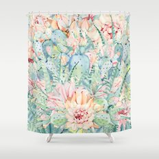 give me pastels Shower Curtain