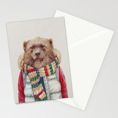 WinterWolverine Stationery Cards