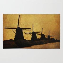 Duch Windmills Rug