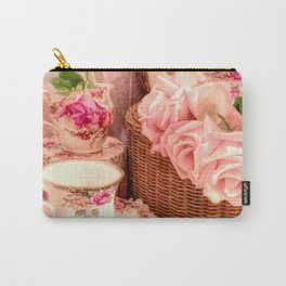 Teacups and Roses 4 Carry-All Pouch