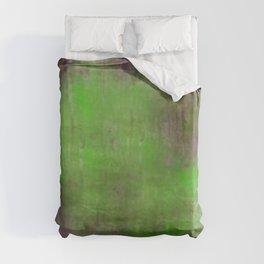 Green Color Fog Duvet Cover