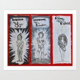 Labeled Beloved Art Print