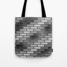 BRICK WALL #2 (Grays) Tote Bag
