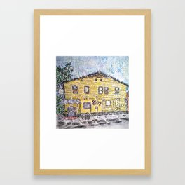 Tipitina's Illustration Framed Art Print