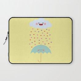 Love Rain Laptop Sleeve