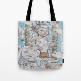 WINTER CENTAUR Tote Bag