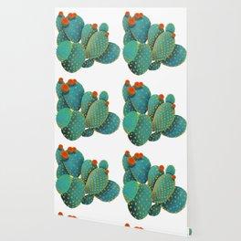 Prickly Pear Cactus Wallpaper