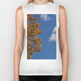 Trees in the fall #montreal Biker Tank
