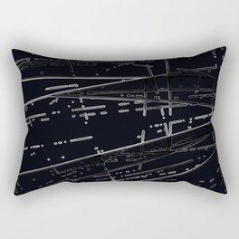 Neon Disco #3 Rectangular Pillow