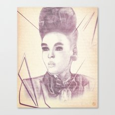 Shattering The Mold - Janelle Monae Canvas Print