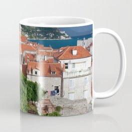 Red Tiled Houses In Dubrovnik Old Town Coffee Mug