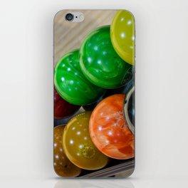 Bowling Balls iPhone Skin