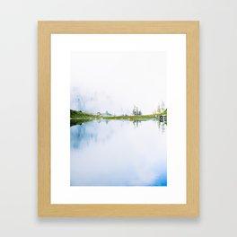 Lake of the Angels 1 Framed Art Print