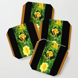Flora Gold II Coaster
