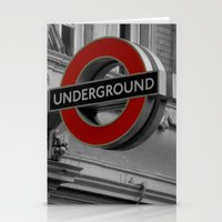 velvet underground Stationery Cards featuring Underground by itsthezoe