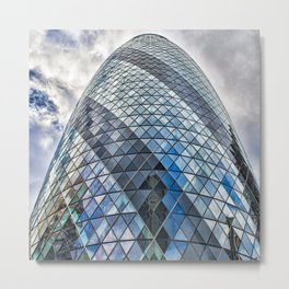 London The Gherkin  30 St Mary Axe Metal Print
