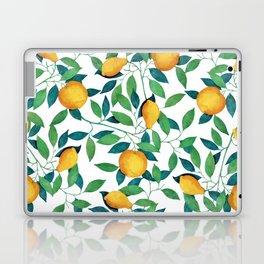 Lemon pattern II Laptop & iPad Skin