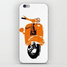 Vespa Scooter Print iPhone & iPod Skin