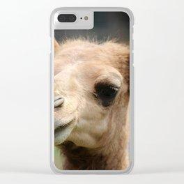 Baby Arabian Camel Clear iPhone Case