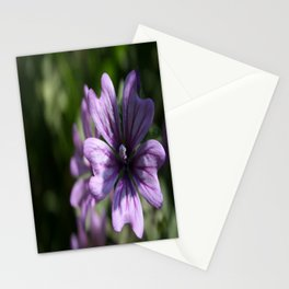 Mauve Mallow Stationery Cards