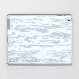 Blue mirage - a handmade pattern Laptop & iPad Skin