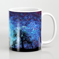 fandom Mugs featuring Lonely Tardis Doctor who Art painting iPhone 4 4s 5 5c 6, pillow case, mugs and tshirt by Three Second