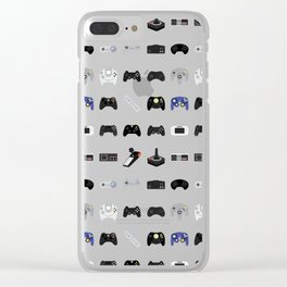 Console Evolution Clear iPhone Case