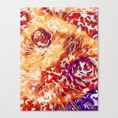 Socca The Cat Expressionism Impressionism  Pop Art Canvas Print