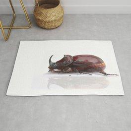 rhinoceros beetle Rug