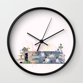 Peek-a-Boob Wall Clock